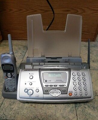 Panasonic KX-FPG376 Plain Paper Fax W 2.4GHz Cordless Phone & Digital Answering