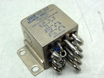 Leach Corp of California KCL-J2A-031 Balanced Force Relay Magnetic Latch 28VDC