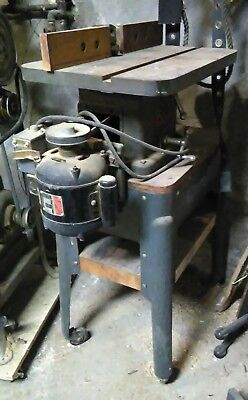 Atlas 3500 Shaper & bits Woodworking router    P/U only NYC area