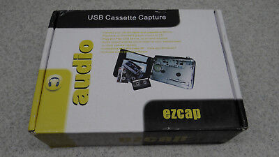 Tape to PC USB Cassette-to-MP3 Converter Capture Audio Music Player