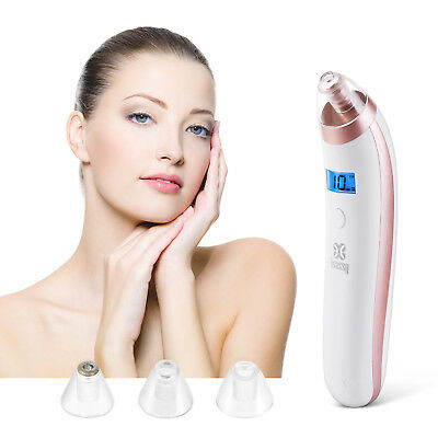 Electric Facial Pore Cleanser Acne Sucker Suction Blackhead Zit Remover Machine