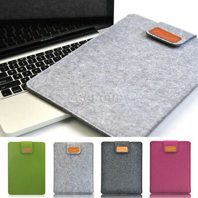 "11"" 13"" 15"" Woolen Envelop Hand Bag Sleeve Case Cover For Laptop PC Notebook Mac"