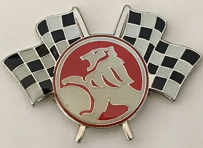 Hat Pin Badge ~ Holden Lion Racing Flags ~      C030902
