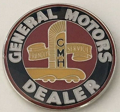 Hat pin badge ~GMH General Motors Dealer ~      C010302 -