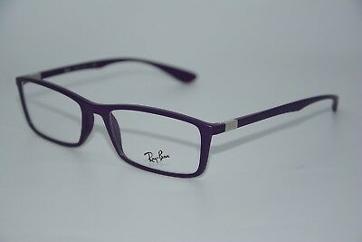 New Ray-Ban Rb 7048 5443 Purple Eyeglasses Authentic Frames Rx Rb7048 53-17