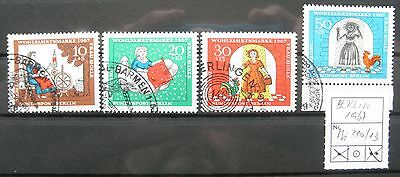BERLIN 1967 Mi 310-313 Frau Holle gestempelt / USED
