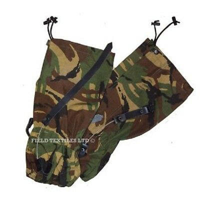 Dpm Camouflage Gaiters Army Military Camo Gaitors - Standard - Used -  Sp3505