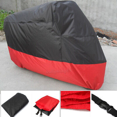 XXXL Motorcycle Cover Waterproof For Harley Davidson Street Glide Touring FLHTCU