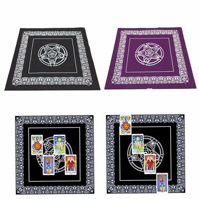 49cm Altar Tarot Tablecloth Table Cloth Decor Divination Cards Square Tapestry
