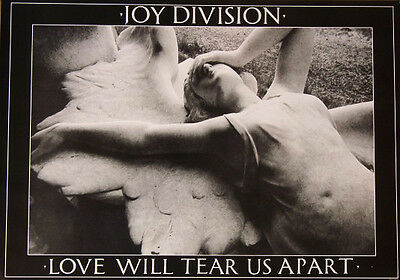 Joy Division Love Will Tear Us Apart Poster Free US Shipping 23.5 x 33 UK import