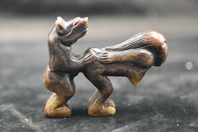 Chinese master Hand-carved High Art culture statue Amulet     2