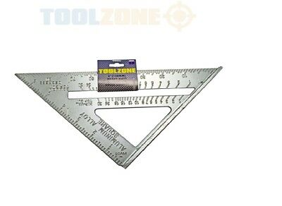 """6"""" 150mm Aluminium Roofing Rafter Square Measure Measuring Sq Roof Tool Speed"""
