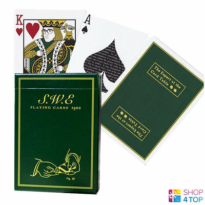 Swe Green Ellusionist Bicycle Playing Cards Deck Erdnase Magic Tricks Uspcc New