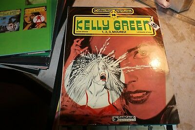 collection aventures  n 14 kelly green 1,2,3, mourez