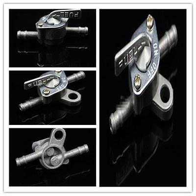 Universal Fuel Hose Filter Inline Cut Shut On Off Valve Switch Motorcycle D62&Y2