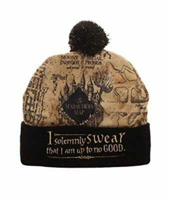 Harry Potter Marauders Map Beanie from BioWorld
