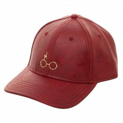 HARRY POTTER METAL PU LEATHER HAT CAP from BioWorld