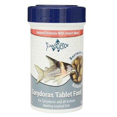 FishScience Tropical Tablet Food 150g Aquarium Bottom Feeder Catfish