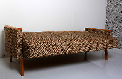 daybed 50s STYLE 60s SOFA BED 70s SOLID HEAVY SPRING UPH VERY GOOD C a 50 60 70