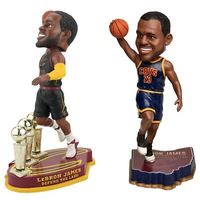 LeBRON JAMES Cleveland Cavaliers NBA EXCLUSIVE Bobblehead Set NIB & MINT!