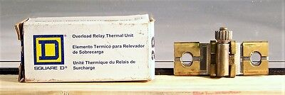 SQUARE D OVERLOAD RELAY THERMAL UNITS MODEL B14 Brand New!