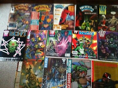2000 AD Sci-Fi Special & Judge Dredd Mega Special Collection Individually Graded