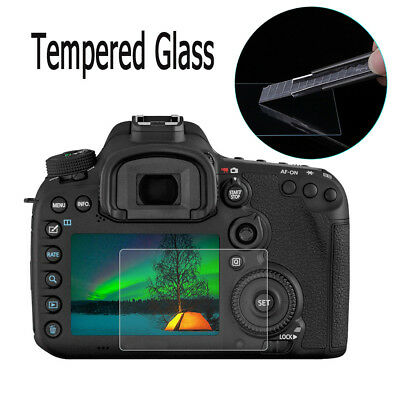 Anti-scratch 9H Tempered Glass Screen Protector Film For Canon 7D Mark II Camera