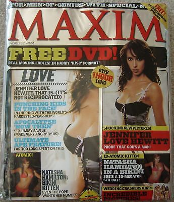 Maxim Magazine November 2005 New And Sealed Jennifer Love Hewitt