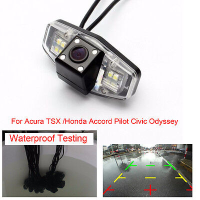 Backup Rear View Parking Camera for Acura TSX /Honda Accord Pilot Civic Odyssey