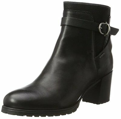 Geox D New Lise High H Stivali Donna Nero Black 37 EU Z7j