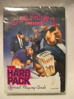 Camel Presents ** The Hard Pack** Official Playing Cards  1991  New