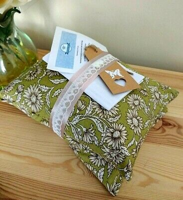 Handmade Flax Linseed or Wheat Microwaveable Heat Chill Pad/Bag (long) Autumn