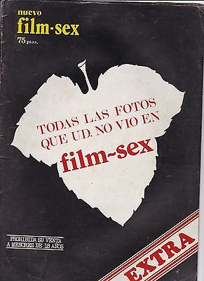 FILM SEX EXTRA,TODAS LAS FOTOS QUE UD. NO VIÓ EN FILM-SEX Magazine vitange Spain