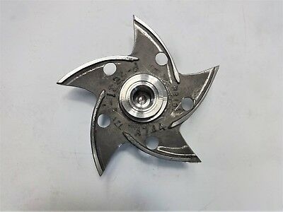 "AEL 5-Vane Pump Impeller, 8-1/4"", CF8M, #P-2631-5"