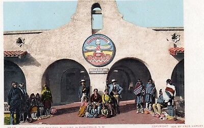 INDIAN AND MEXICAN BUILDING  ALBUQUERQUE  NEW MEXICO  undivided back