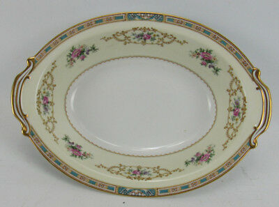 Noritake China Colby Blue 5032 Open Oval Vegetable Dish