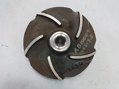 "Goulds 5-Vane Pump Impeller, 7-1/2"", CF8M, #56381"