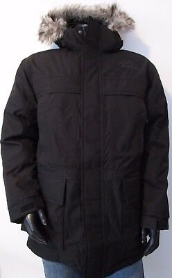 Mens TNF The North Face Mcmurdo II 550-Down Parka Insulated Hooded Jacket Black