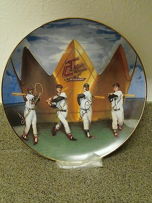 """ Triple Crown winners "" 10 1/4"" GOLD EDITION PLATE."