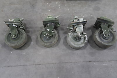 Container Caster Wheels (set Of 4)