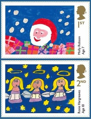 2013 Christmas Children's Stamps 1st & 2nd Full Sheets