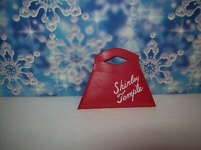 "Original Red Signature Purse 4 the 1950's 12"" Shirley Temple Doll #1  D/V"