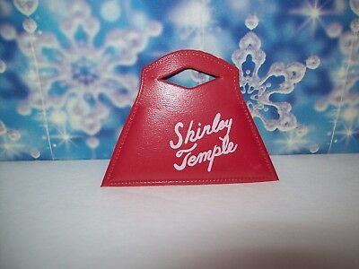 "Original Red Signature Purse for the 1950's 12"" Shirley Temple Doll #2  D/V"