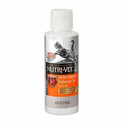 Nutri-Vet Alaska Salmon Oil for Cats 4 Ounce