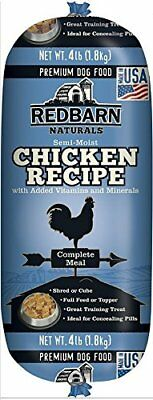 Redbarn Pet Products Chicken and Liver Food Roll 4 lb. roll