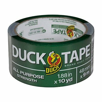 Duck Br& 761288 All-Purpose Duct Tape 1.88 Inches by 10 Yards Silver Single Roll