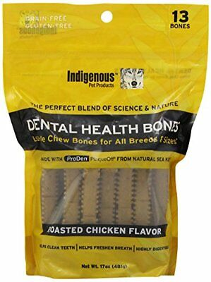 Indigenous Dental Health Bones Roasted Chicken Flavor