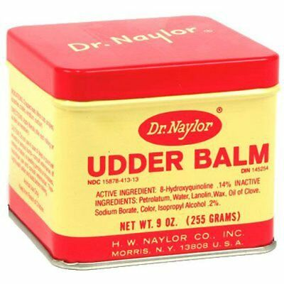 Dr. Naylor Udder Balm (9 oz.) - Traditional Antiseptic Moisturizing Ointment