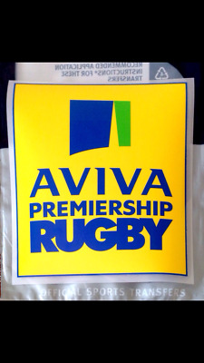 2015-17 English AVIVA PREMIERSHIP Official SPORTINGiD Rugby Union Badge Patch