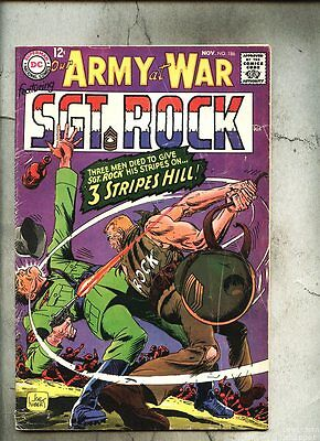 Our Army At War #186-1967 vg- Sgt. Rock Neal Adams